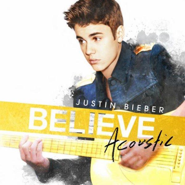 Justin Bieber : Believe, découvrez la pochette de son album en acoustique !
