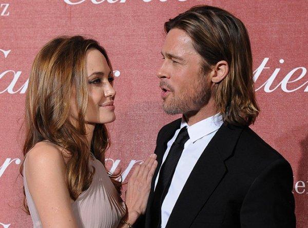 Brad Pitt : très inspiré pour la St Valentin !