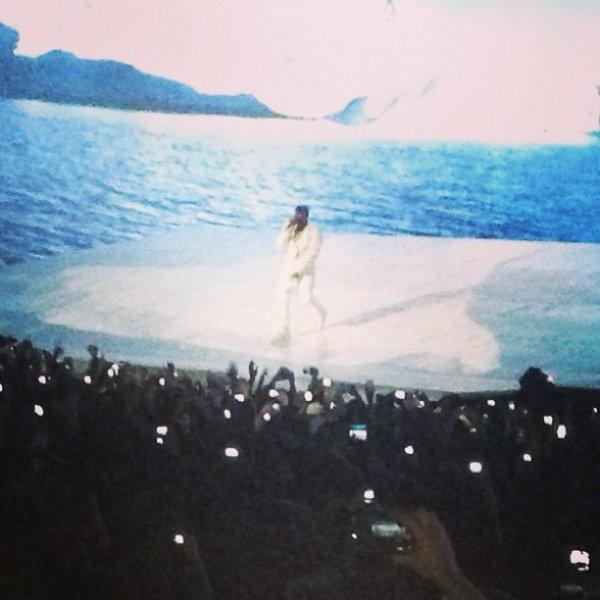 Tal au concert de Kanye West !