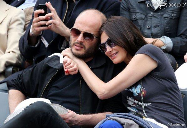 Entre Helena Noguera et M.Pokora , les peoples s'affichent à Roland Garros !