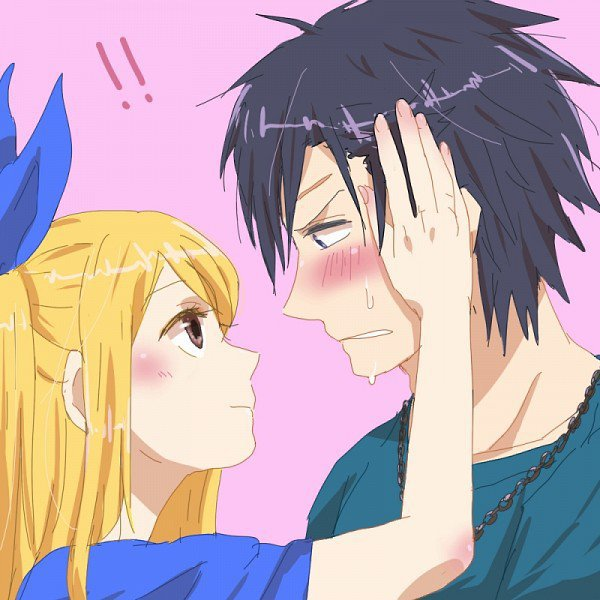 gray x lucy
