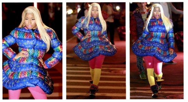 Nicki fait un shooting pour Adidas ♥