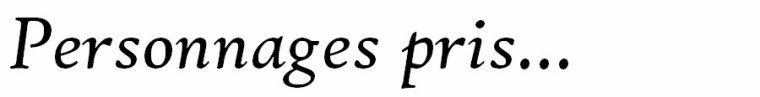 Inscriptions.