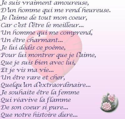 Poeme d 39 amour vive la techno espagnole - Poeme anniversaire tata ...