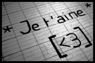 """Le fameux verbe """"AIMER"""""""