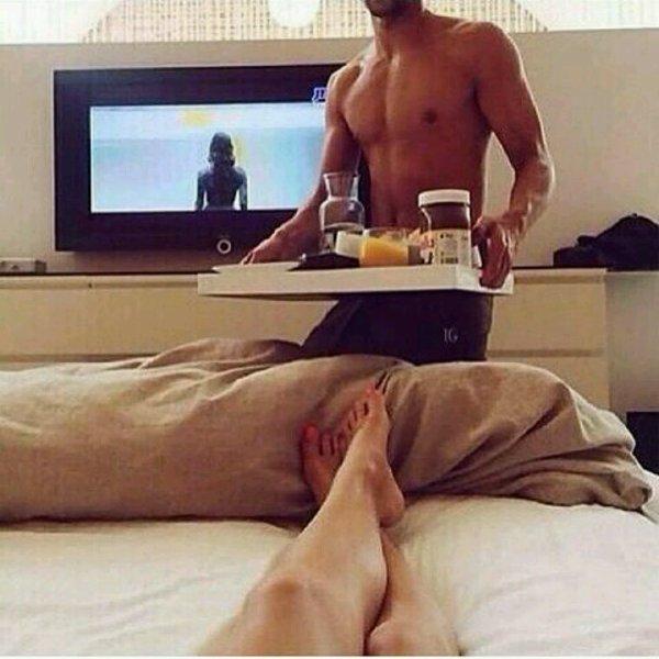 Petit déjeuner au lit? Tu valides?