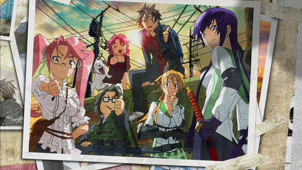 Highschool Of The Dead [vostfr-vf]