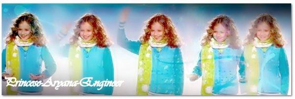new photos d'aryana au JO d'hiver au canada c'est l'ouverture =) elle est trop chou!!! elle étai accompagner  de son frère
