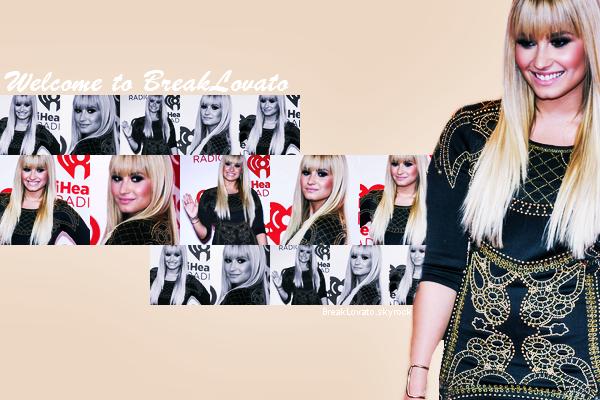 Bienvenue sur BreakLovato ta source sur la belle Demi Lovato