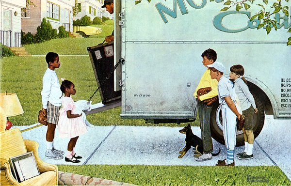 HDA - Moving in de Norman Rockwell