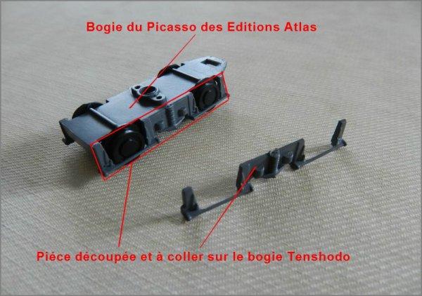 """Motoriser l'autorail """"Picasso""""des  Editions Atlas (2)"""