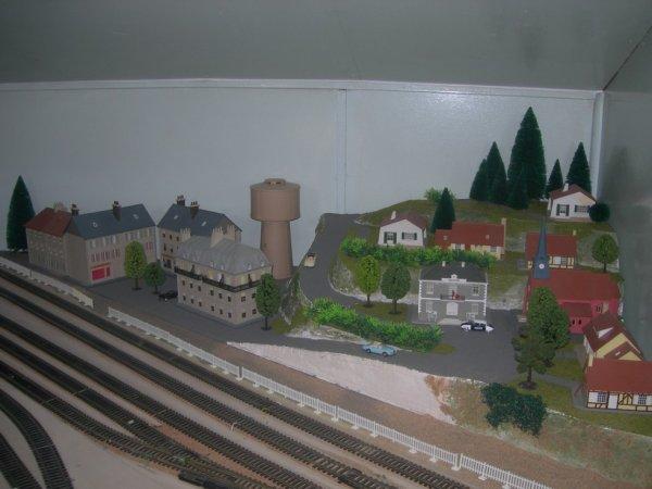 Une agglomération  placé dans l'angle du module.