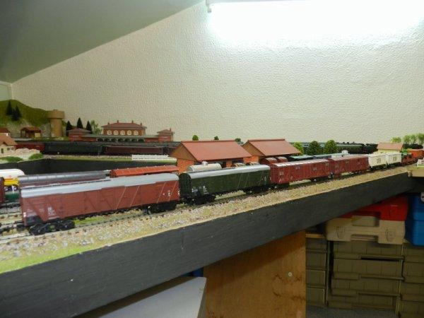 Rame de  wagons marchandises (3)