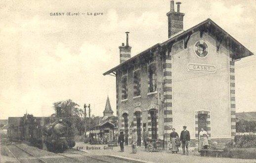 Rail Expo 2012 - La gare de Gasny