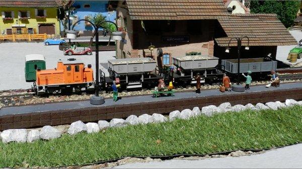 Le train de jardin de molsheim le mat riel roulant d1 for Jardin ferroviaire