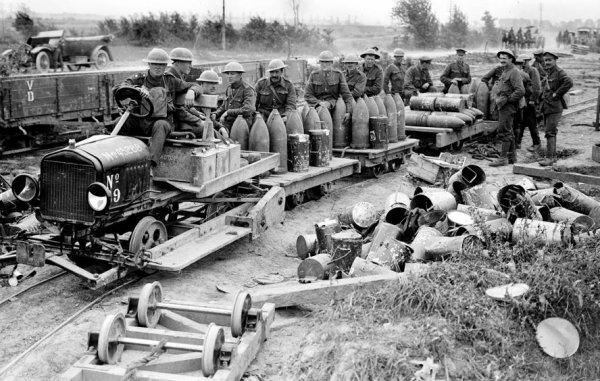 Le chemin de fer militaire de la grande guerre (2)