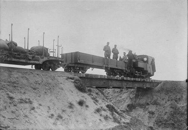 Le chemin de fer militaire de la grande guerre (4)