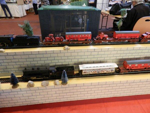 EXPOTRAIN à Goussainville 7/8 février 2015 - Le train cirque (1)