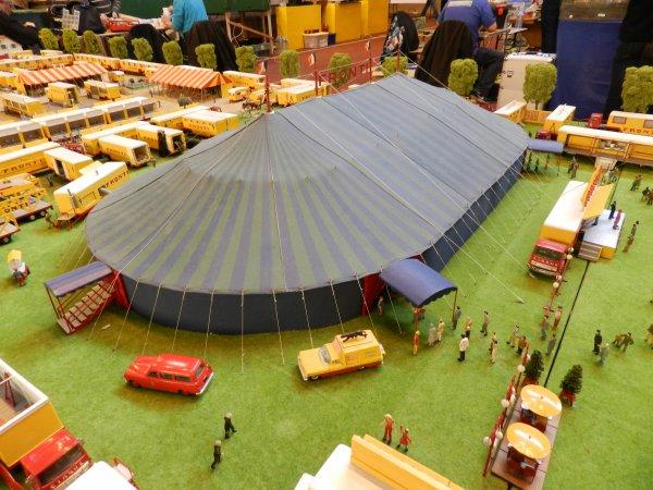 EXPOTRAIN à Goussainville 7/8 février 2015 - Le cirque de Bernard Gagnet (1)