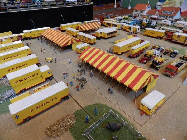 EXPOTRAIN à Goussainville 7/8 février 2015 - Le cirque de Bernard Gagnet (2)