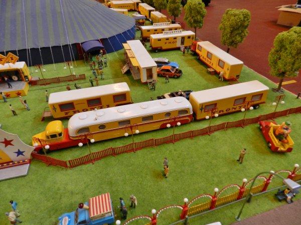 EXPOTRAIN à Goussainville 7/8 février 2015 - Le cirque de Bernard Gagnet (3)