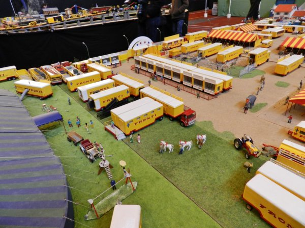 EXPOTRAIN à Goussainville 7/8 février 2015 - Le cirque de Bernard Gagnet (4)