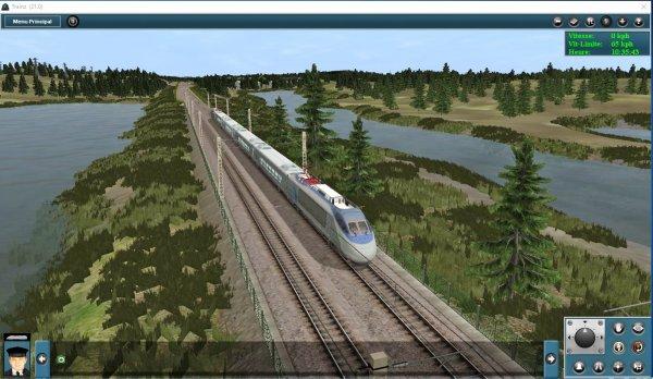 Mes jeux PC -Acela Express dans Trainz Simulator (1)
