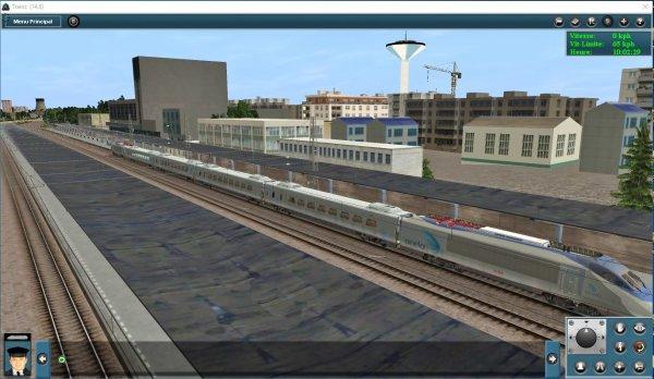 Mes jeux PC - Acela Express dans Trainz Simulator (2)