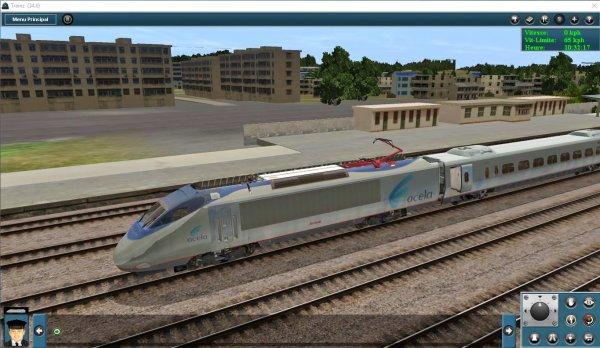 Mes jeux PC - Acela Express dans Trainz Simulator (3)