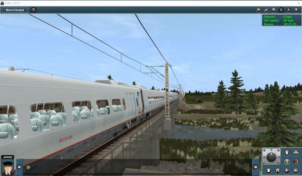 Mes jeux PC - Acela Express dans Trainz Simulator (4)