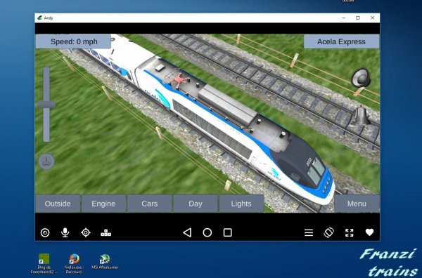Acela Express dans Train Sim sur les applications Androïd Google Play (1)