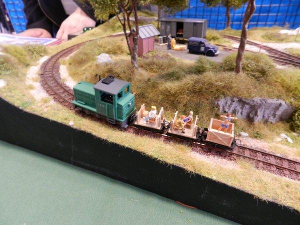 Ma visite à Tergnier Model'Expo 2016 - La mini maquette (1)