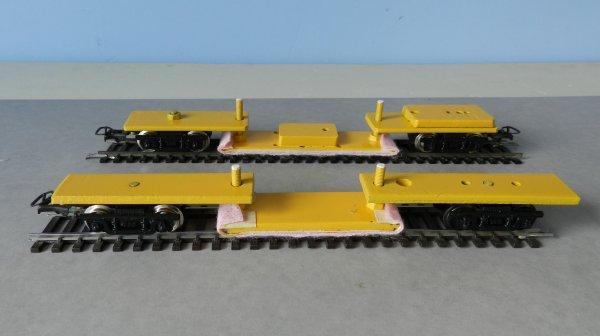 Mon réseau - Un train nettoyeur de rails à patins frotteurs (v)
