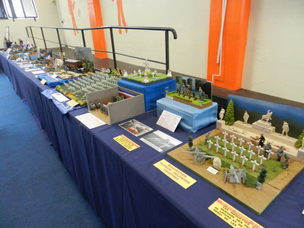 Ma visite à Tergnier Model'Expo 2016 -Le stand  Expo28 , le Colonel -