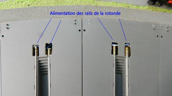Mon Reseau La Rotonde Type P Jouef Et Son Pont Tournant 1