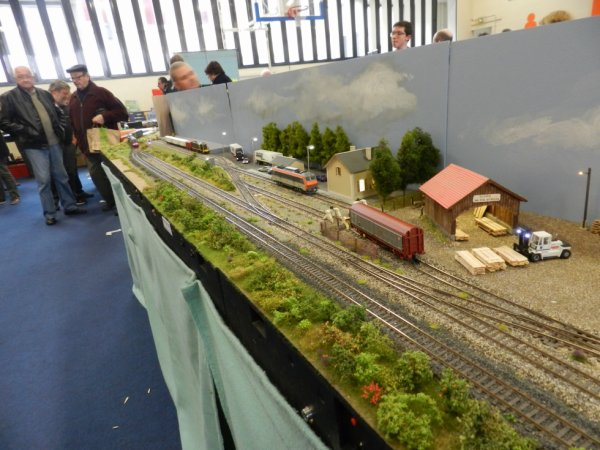 Ma visite à Tergnier Model'Expo 2016 - Le module Junior (1)