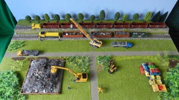 Mon réseau - Un entrepôt pour la ferraille (5)