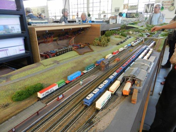 Ma visite au Cercle Ferroviaire de Nancy - Réseau échelle N (1)