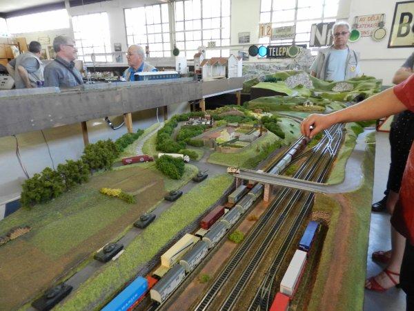 Ma visite au Cercle Ferroviaire de Nancy - Réseau échelle N (2)