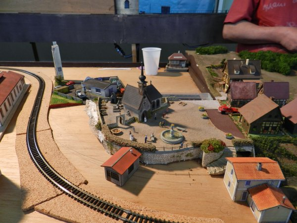 Ma visite au Cercle Ferroviaire de Nancy - Réseau échelle N (3)