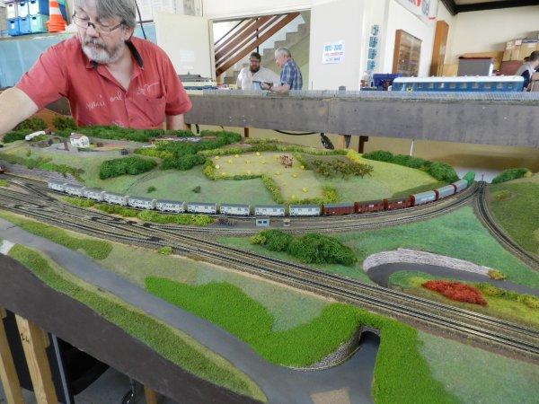 Ma visite au Cercle Ferroviaire de Nancy - Réseau échelle N (4)