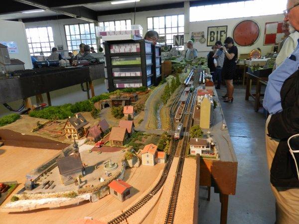 Ma visite au Cercle Ferroviaire de Nancy - Réseau échelle N (5)
