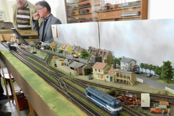 Ma visite au Cercle Ferroviaire de Nancy - La commande des trains par ordinateur  (1)