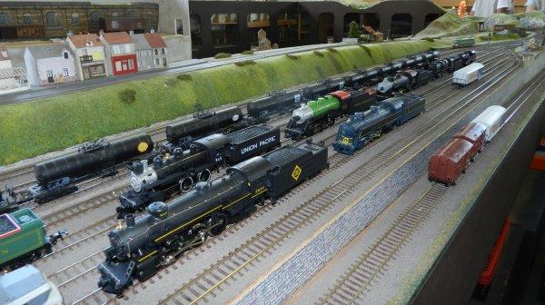 Ma visite au Cercle Ferroviaire de Nancy - le réseau HO (1)