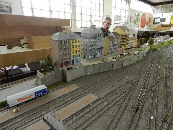 Ma visite au Cercle Ferroviaire de Nancy - le réseau HO (2)