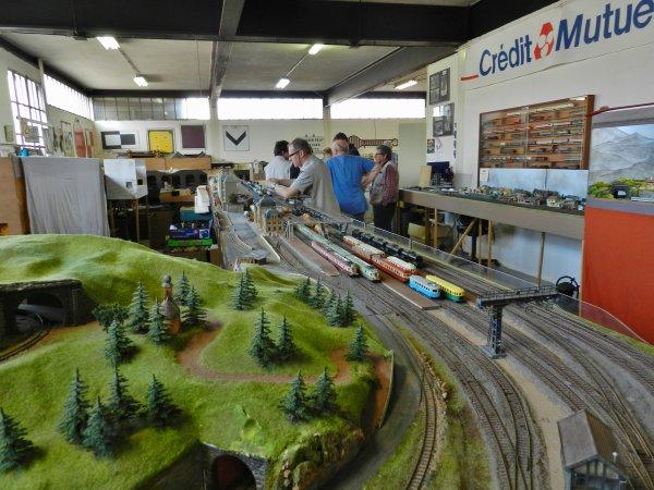 Ma visite au Cercle Ferroviaire de Nancy - le réseau HO (3)
