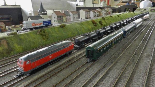 Ma visite au Cercle Ferroviaire de Nancy - le réseau HO (4)