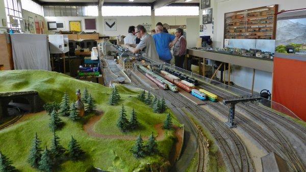 Ma visite au Cercle Ferroviaire de Nancy - le réseau HO (5)