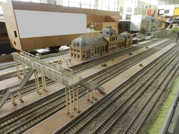 Ma visite au Cercle Ferroviaire de Nancy - le réseau HO (6)