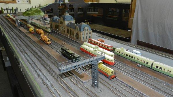 Ma visite au Cercle Ferroviaire de Nancy - le réseau HO (9)